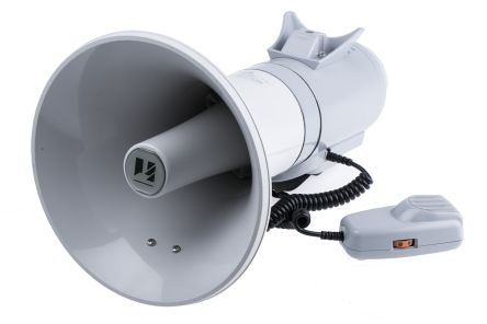 Grey Shoulder Megaphone, ER2215, 15 W product photo
