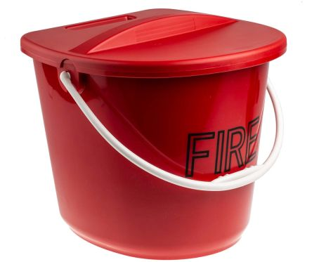 Wall Mounted Plastic Fire Bucket product photo