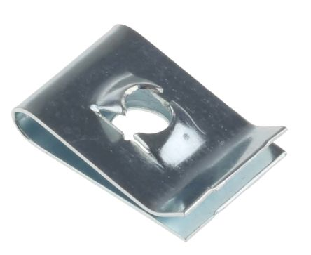 ZnPt spring steel captive nut,M4
