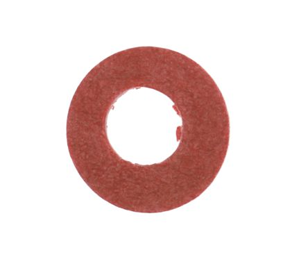 M3 Plain Vulcanised Fibre Tap Washer, 0.5mm Thickness