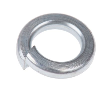 ZnPt steel 1 coil spring washer,M5