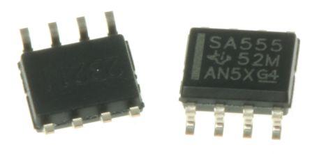 Texas Instruments SA555D, Timer Circuit, 8-Pin SOIC