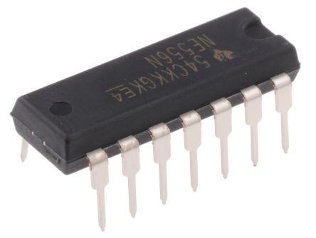 Texas Instruments NE556N, Timer Circuit, Dual, 14-Pin PDIP