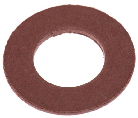 M12 Plain Vulcanised Fibre Tap Washer, 1.5mm Thickness