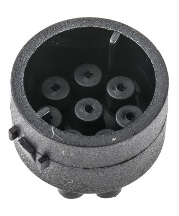 Male Connector Insert 8 Way for use with Mini Buccaneer Connector