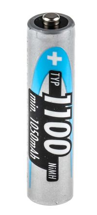 5035232 Ansmann Nimh Aaa Rechargeable Battery 1100mah Rs Components