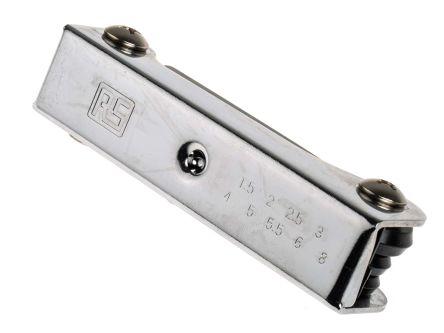 RS PRO 9 piece Folding Hex Key Set Chrome Vanadium Steel