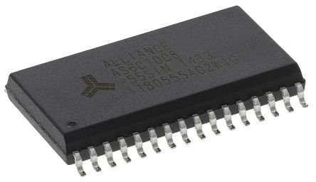 Alliance Memory, AS6C1008-55SIN SRAM Memory, 1Mbit, 55ns, 2.7 → 5.5 V 32-Pin SOP