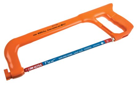 Rs pro 300 mm hacksaw with hss blade and adjustable handle sibille 300 mm hacksaw and insulated handle greentooth Gallery