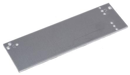 19-inch Front Panel, 3U, 8HP, Grey, Aluminium