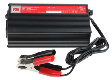 RS PRO Lead Acid 24V 5A Battery Charger