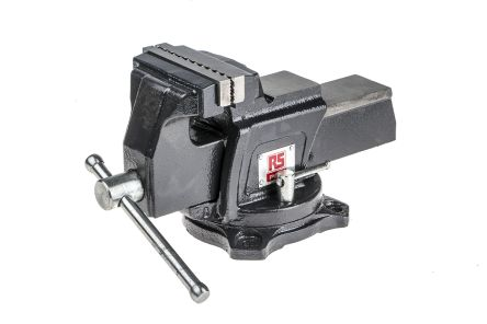 RS PRO Bench Vice 101.6mm x 100mm, 6.5kg
