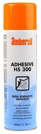 Ambersil HS300 Spray Adhesive, 500ml
