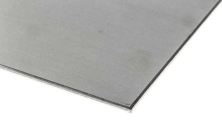 316 Stainless Steel Sheet, 500mm x 300mm x 3mm