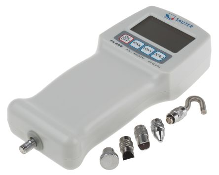 Dinamómetro Sauter FK 500., medición hasta 500No, precisión ±0,5 %