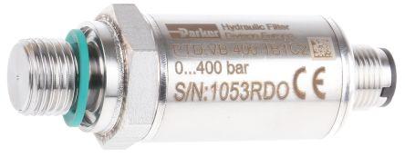 Hydraulic Pressure Sensor PTDVB4001B1C2, M12, 0 -> 5V dc, 0bar to 400bar product photo