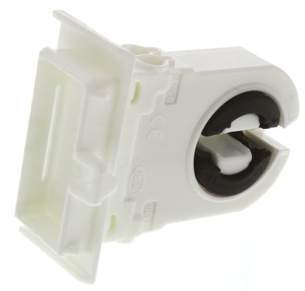 Fluorescent T8/T12 Lamp Holder Snap-Fit - 26.308.1125.50