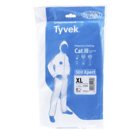 C10924281 White Disposable Coverall, XL product photo