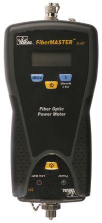 Ideal Networks Fibre Optic Test Equipment FiberMaster Power Meter, -60 → +3 dBm