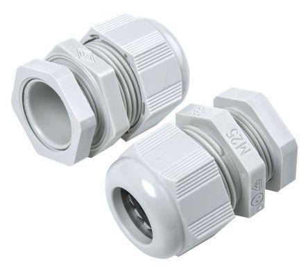 F7022500r Sib Sib Sib Tec M25 Cable Gland With Locknut