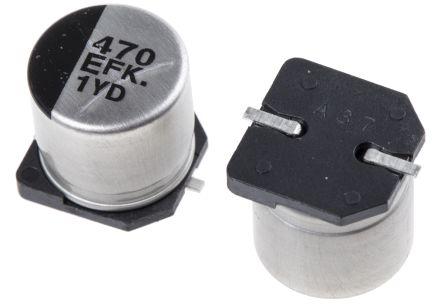 Panasonic SMD Capacitor Elko Low ESR 22uF 16V 4x5,8 1,35R FK NEW #BP 4 PCs