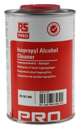 RS PRO 500 ml Tin Isopropyl Alcohol (IPA) for PCBs