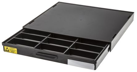 18 compartment drawer,275x250x20mm
