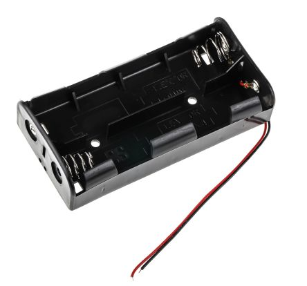 OF BATT FOR PRO POWER 2X AA BATTERY SIZES ACCEPTED AA NO PCB BATTERY HOLDER