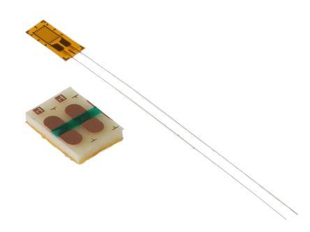 RS PRO Wire Lead Strain Gauge 2.5mm, 120Ω -30°C +80°C