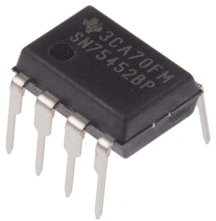 Texas Instruments SN75452BP, Device Driver Dual, 8-Pin, PDIP
