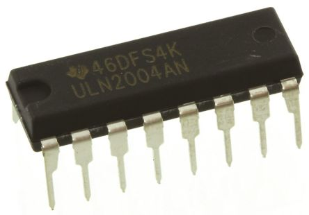 5x uln2002an LED Driver 7-compartment with Darlington dip16 by Texas Instruments °