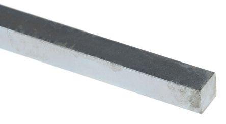 Key Steel Square Bar, 330mm x 6mm x 6mm