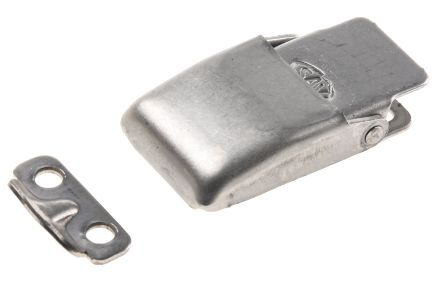Stainless Steel Toggle Latch,Spring Loaded, 15kgf Op.Tension, 33.5 x 18 x 8mm