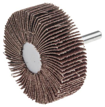 RS Aluminium Oxide Flap Wheel 60 Grit, 60mm x 20mm