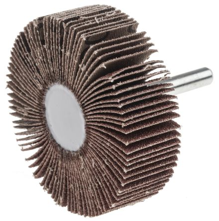 RS Aluminium Oxide Flap Wheel 80 Grit, 60mm x 20mm
