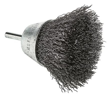 RS PRO Crimped Steel Abrasive Cup Brush, 5000rpm