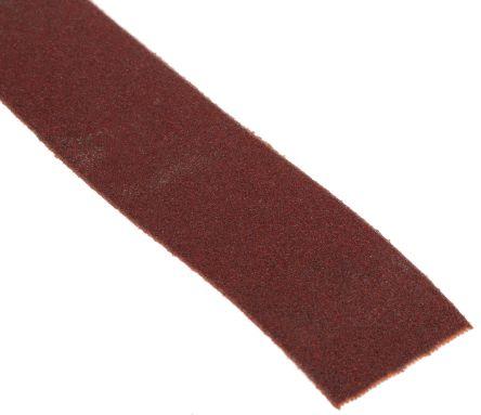 Norton Handy Roll Aluminium Oxide Fine Abrasive Cloth Roll, 25m x 25mm