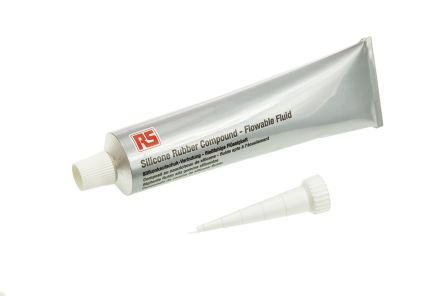 RS PRO Transparent Silicone Sealant Liquid 90 ml Tube