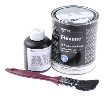 15350 Itw Devcon Itw Devcon Flexane 500 G Black Tin