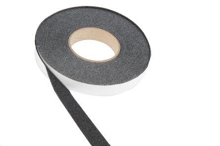 Rocol Black Anti-Slip Tape - 18.25m x 25mm