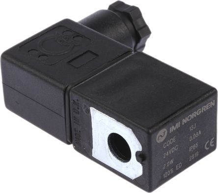 Norgren 24V dc 2W Replacement Solenoid Coil, Compatible With X Series