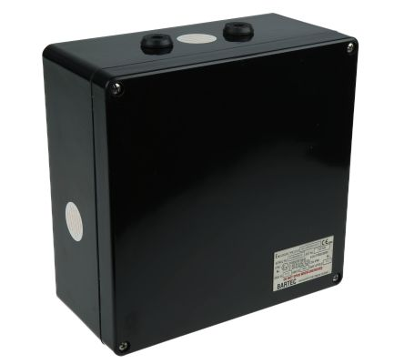 Bartec ATEX Junction Box, IP66, 255mm x 250mm x 120mm