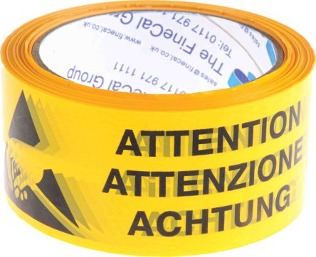 PVC antistatic packaging tape,66mx50mm