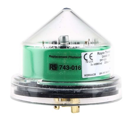 0.25W Lighting Controller Sensor Switch, Filtered Silicon Photodiode, Wall Mount product photo