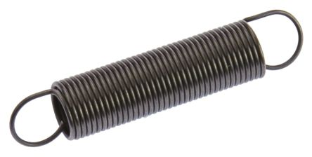 RS PRO Steel Extension Spring, 44.6mm x 9mm