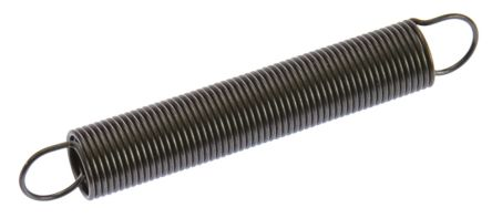 RS PRO Steel Extension Spring, 60.6mm x 9mm
