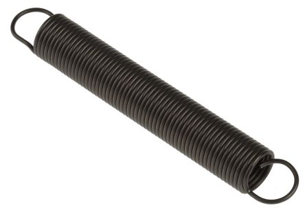 RS PRO Steel Extension Spring, 105mm x 15mm