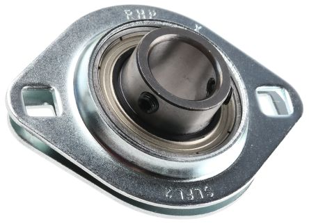 """Two Bolt flang Flange Bearing Fixed w// 1//2/"""" bore"""