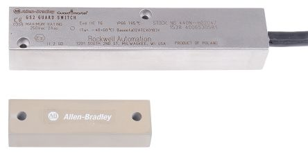 Ferrogard 440N ATEX Magnetic Safety Switch, Stainless Steel, 250 V ac |  Allen Bradley Guardmaster | RS Components India