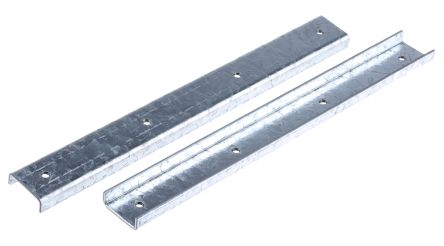 Steel 254mm Channel Splice Support 0.56kg, Fits Channel Size 21 x 41mm product photo